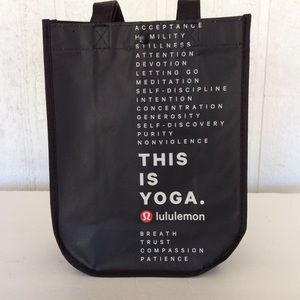 LULULEMON MINI TOTE THIS IS YOGA